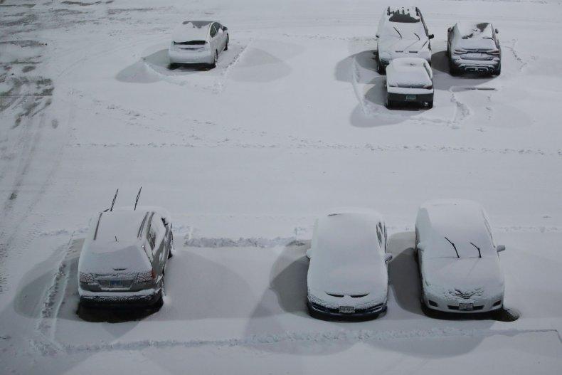 Snow Chicago Illinois