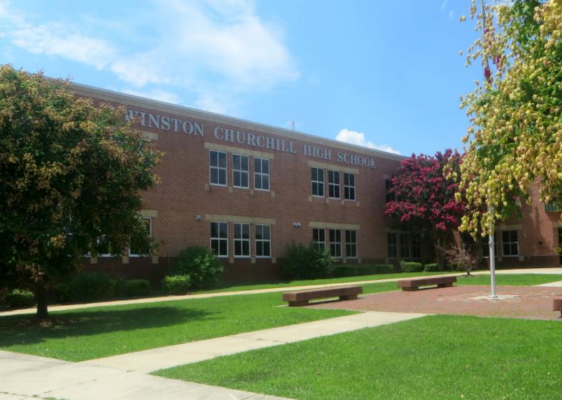 #85. Winston Churchill High School