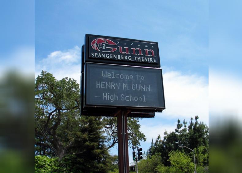 #32. Henry M. Gunn High School