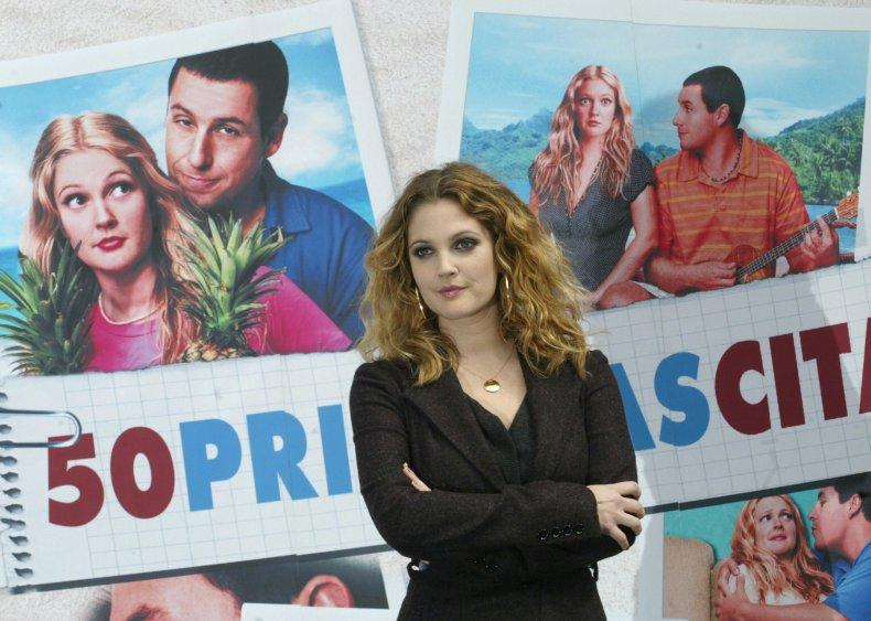 Drew Barrymore 50 First Dates Netflix