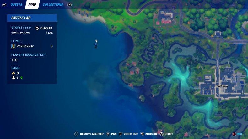 fortnite hidden bunker location 1 map