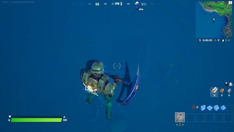 fortnite hidden bunker location 1 gameplay