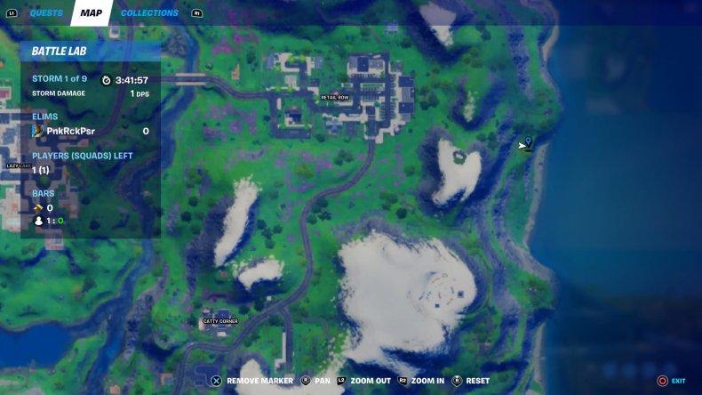 fortnite hidden bunker location 3 map