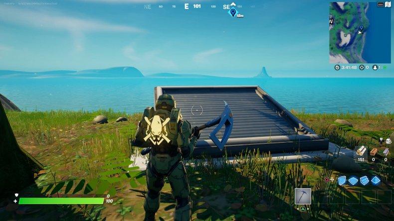 fortnite hidden bunker location 3 gameplay