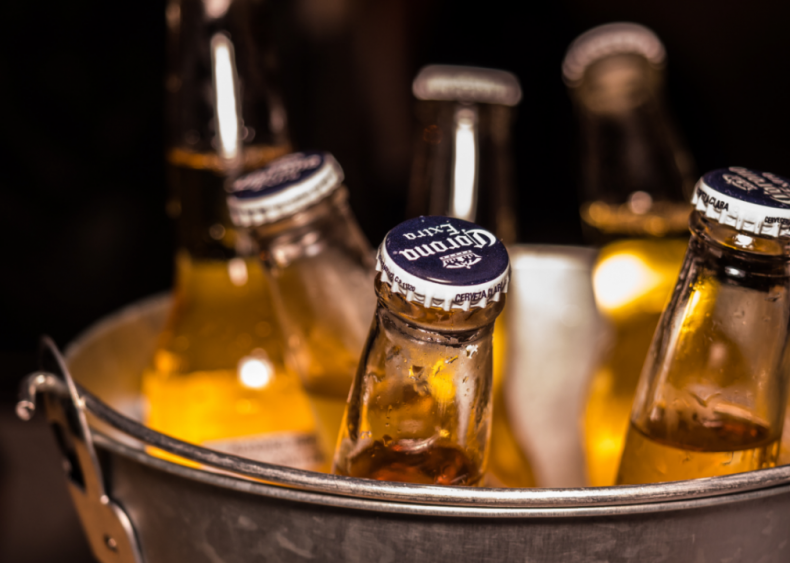 Corona amounted to 8.3% of all alcohol sales