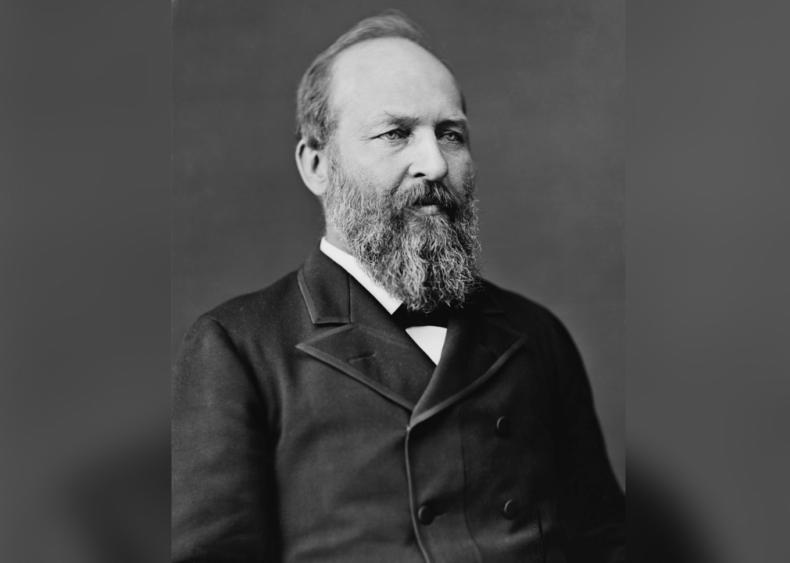 #39. James A. Garfield