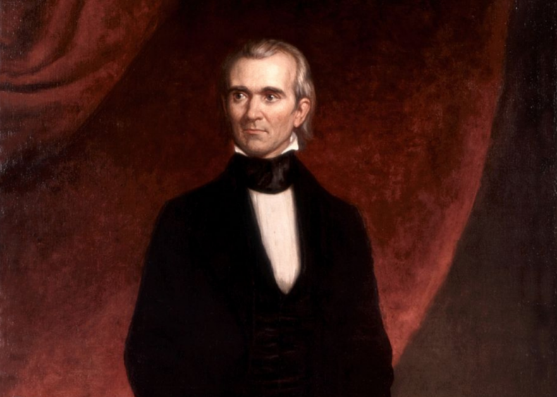 #38. James K. Polk