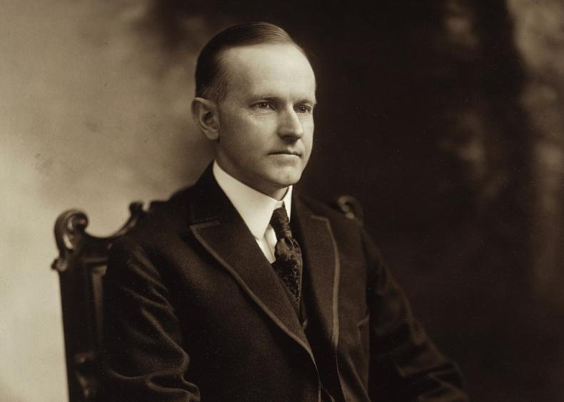#35. Calvin Coolidge