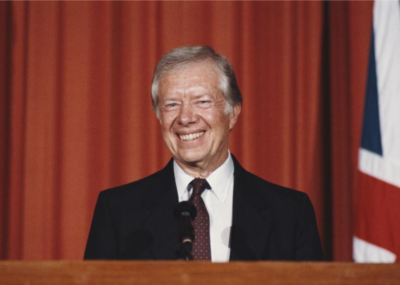 #30. Jimmy Carter
