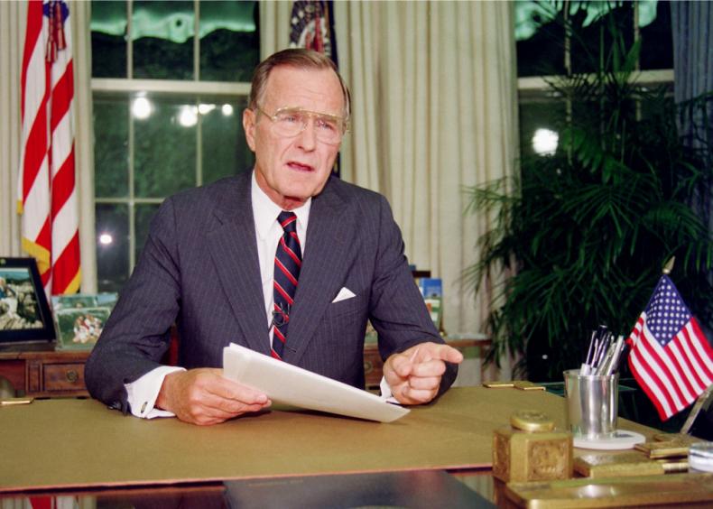 #6. George H.W. Bush