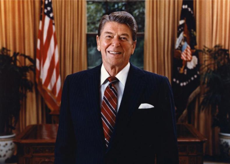 #3. Ronald Reagan