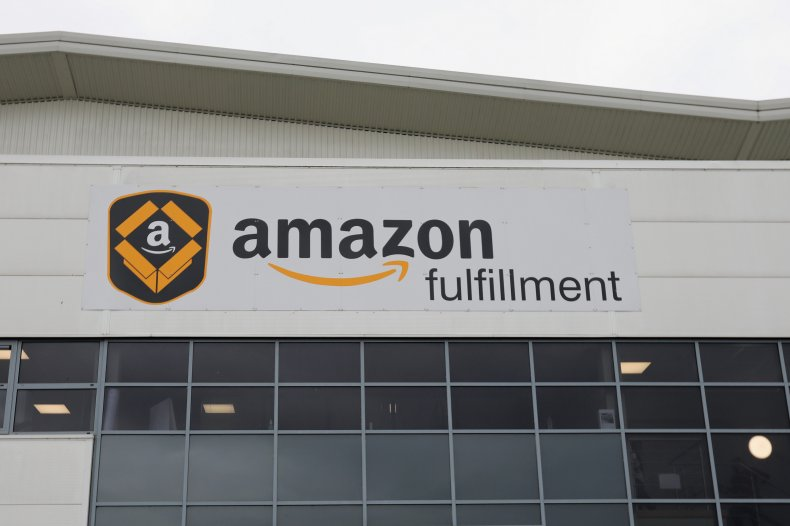 Amazon's fulfillment centre