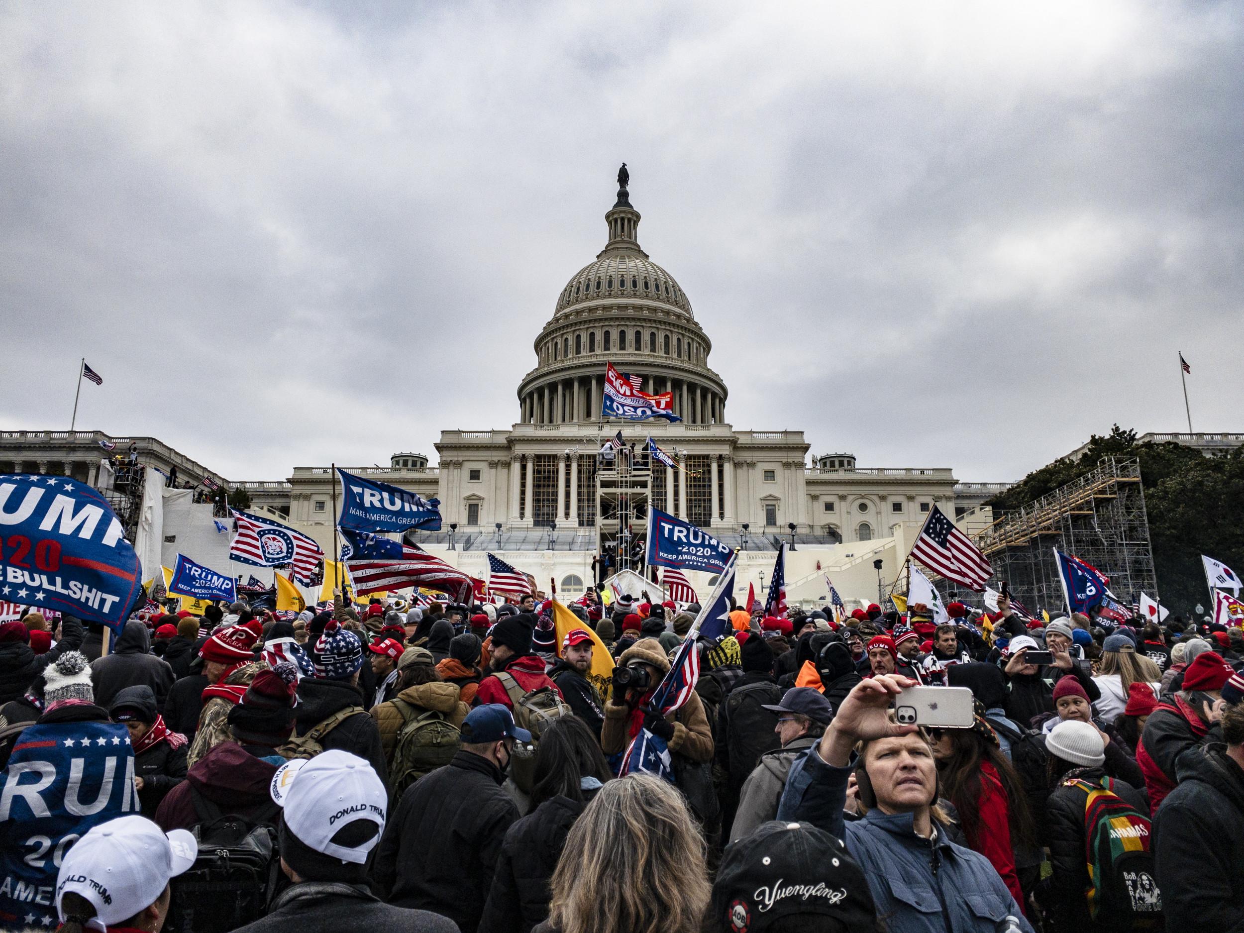 Capitol Police Chief Calls January 6 Riot a 'Terrorist Attack'