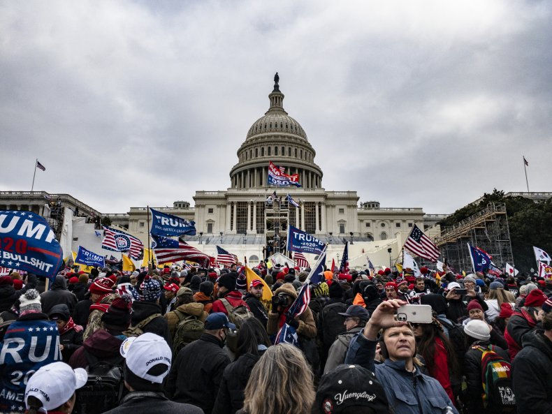 U.S. capitol riot on January 6, 2021