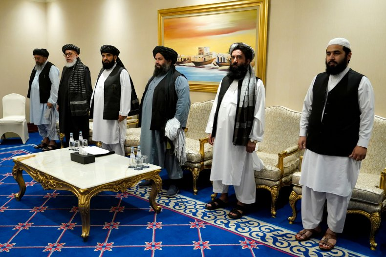 taliban, officials, peace, talks, doha, qatar