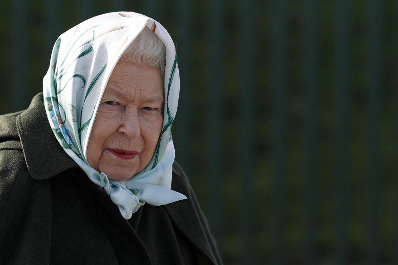 Queen Elizabeth II in Norfolk