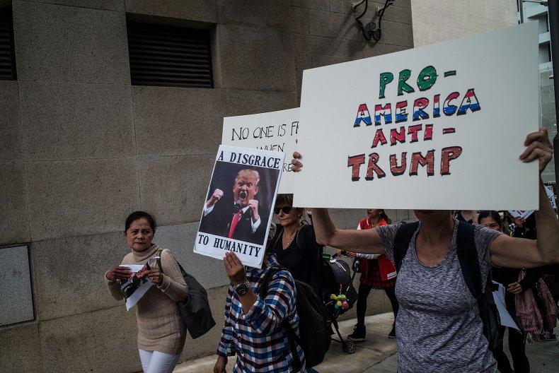 china trump biden administration protest