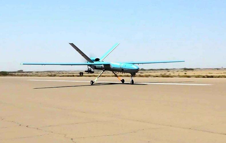 Iranian military drone