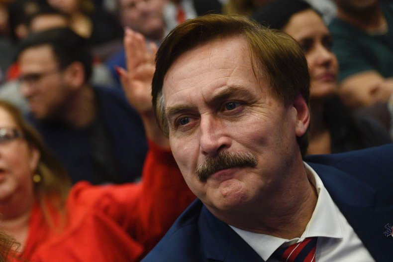 Mike Lindell My Pillow Twitter Dominion cancel