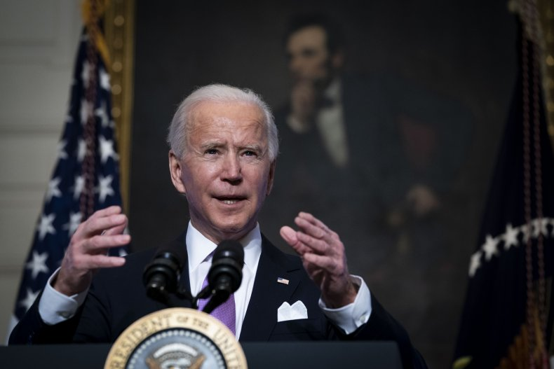 Biden Speaks About the Coronavirus Pandemic
