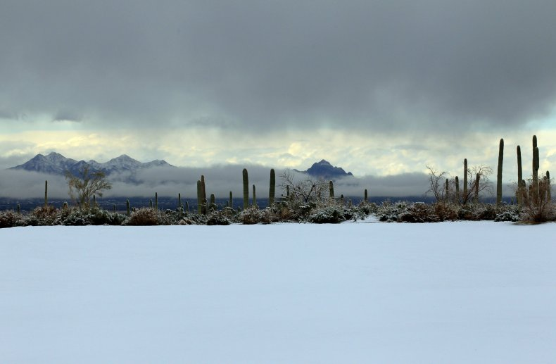 Arizona snow storm
