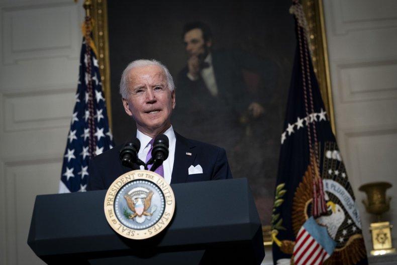 Joe Biden speaks about COVID in DC
