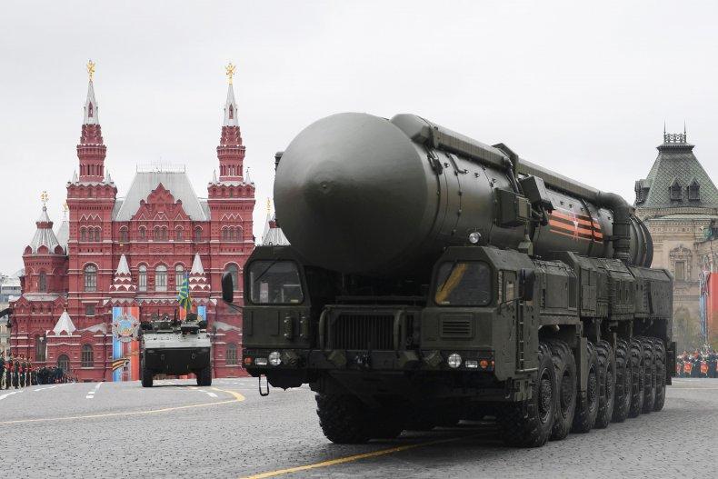 Russian Yars RS-24 ICBM