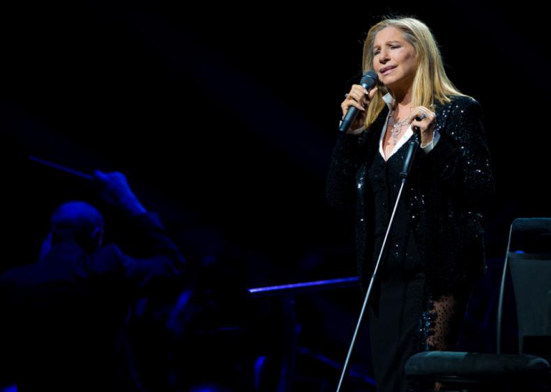 Barbra Streisand holds most Gold Album Awards of all women