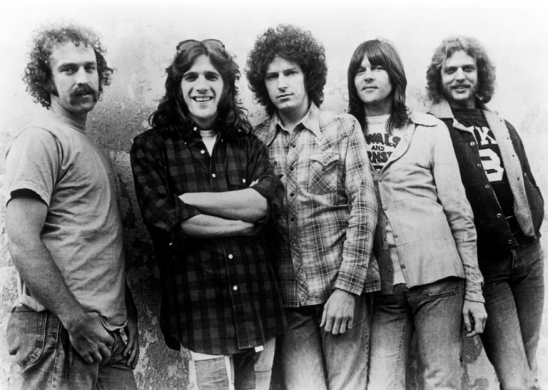 The Eagles earned the first Platinum Album