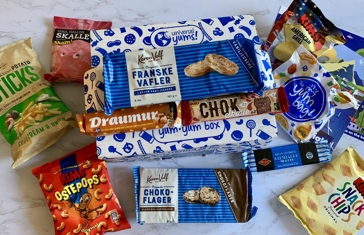 Universal Yum: Get Snacks From Different Countries