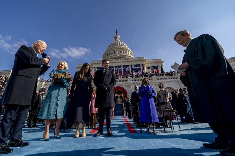 Inauguration of Joe Biden on January 20,
