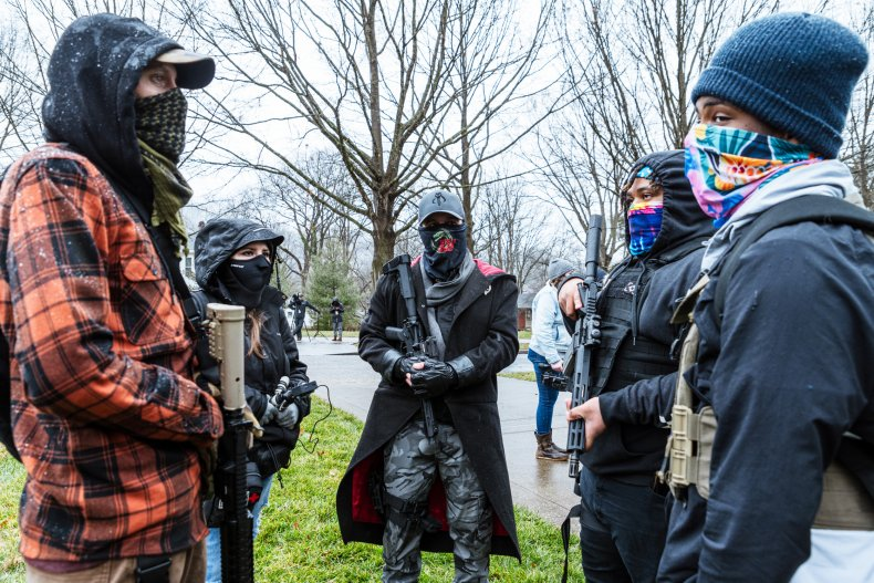 left, right, wing, militias, boogaloo, bois