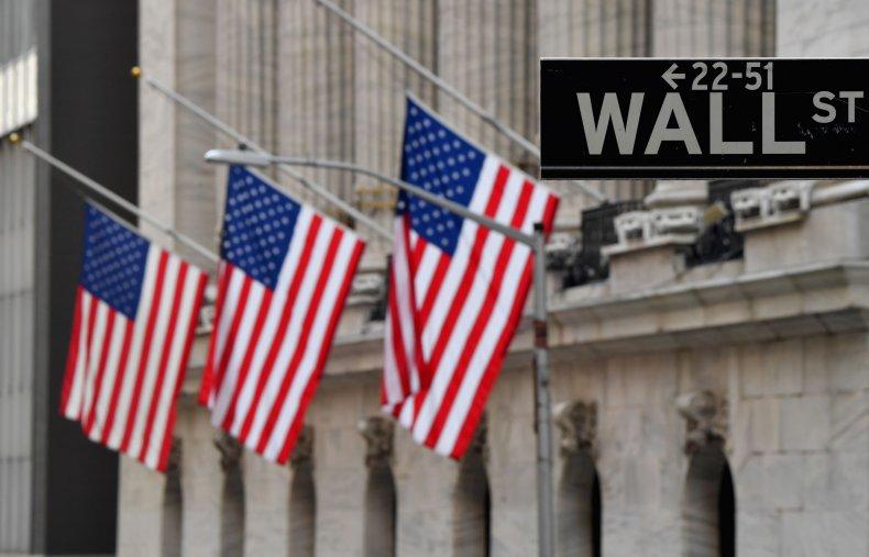 NYSE Wall Street January 2021