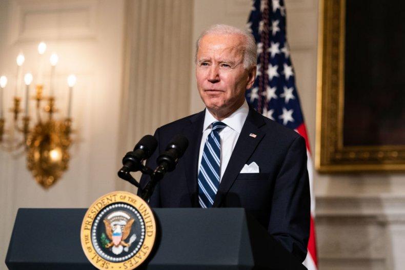 President Joe Biden state dining room