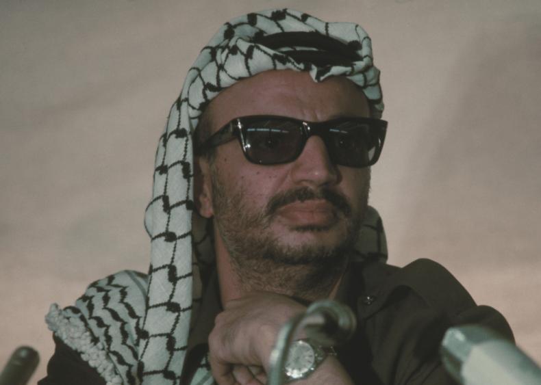"#98. Yasser Arafat's ""Gun and Olive Branch"""