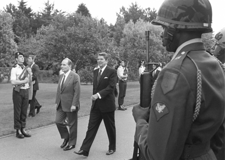 """#77. Ronald Reagan's """"Address at the U.S. Ranger Monument on the 40th Anniversary of D-Day"""""""
