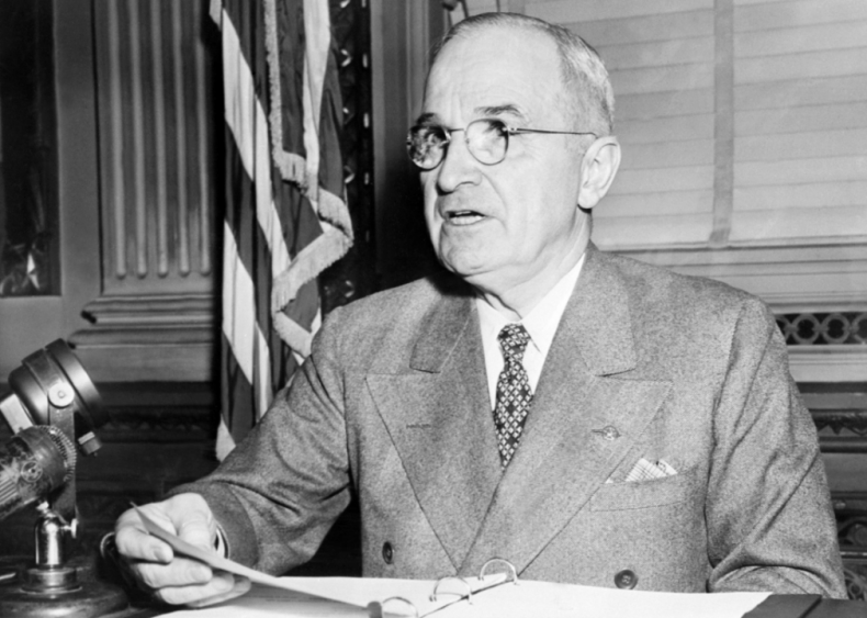 """#63. Harry Truman's """"Statement by the President Announcing the Use of the A-Bomb at Hiroshima"""""""