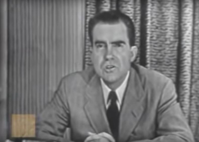 """#56. Richard Nixon's """"Checkers"""""""