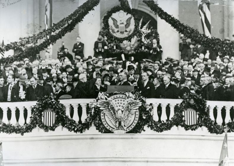 "#53. Franklin D. Roosevelt's ""First Inaugural Address"""