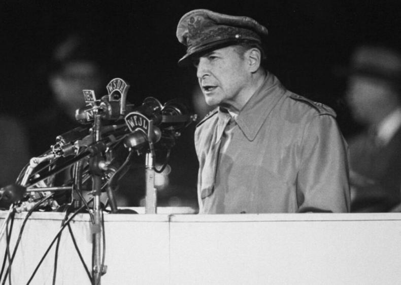 """#46. General Douglas MacArthur's """"Farewell Address to Congress"""""""