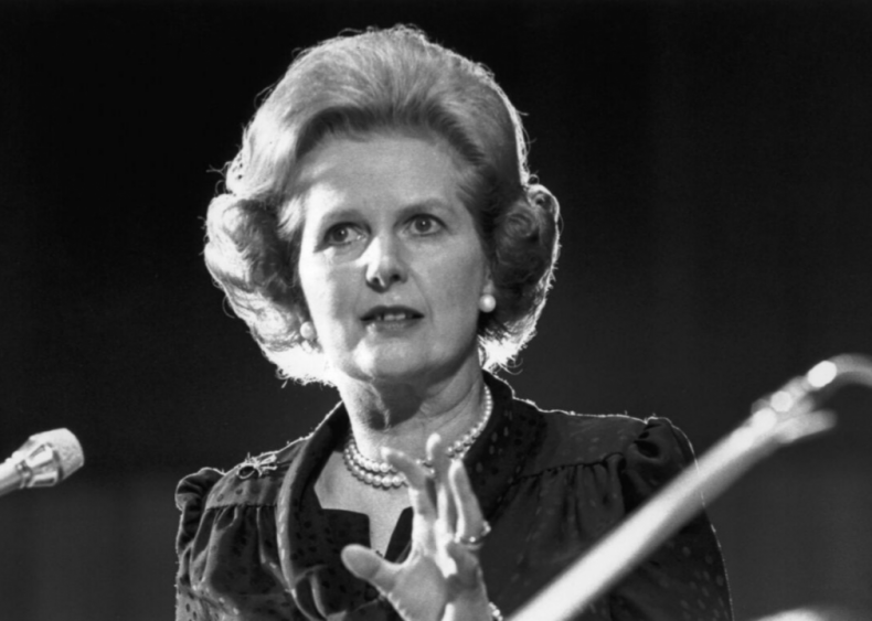 """#36. Margaret Thatcher's """"The Lady's Not for Turning"""""""