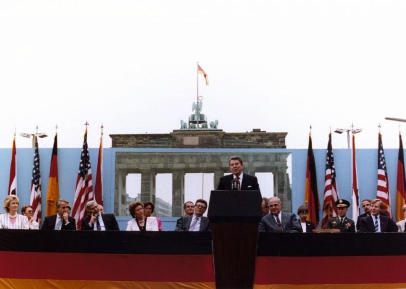 "#22. Ronald Reagan's ""Remarks at the Brandenburg Gate"""