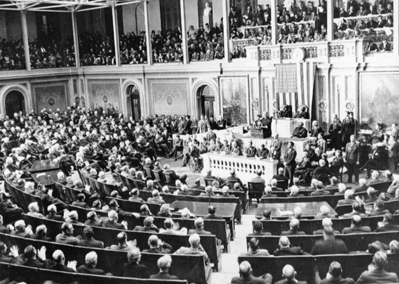 #8. Franklin D. Roosevelt's 1941 State of the Union Address
