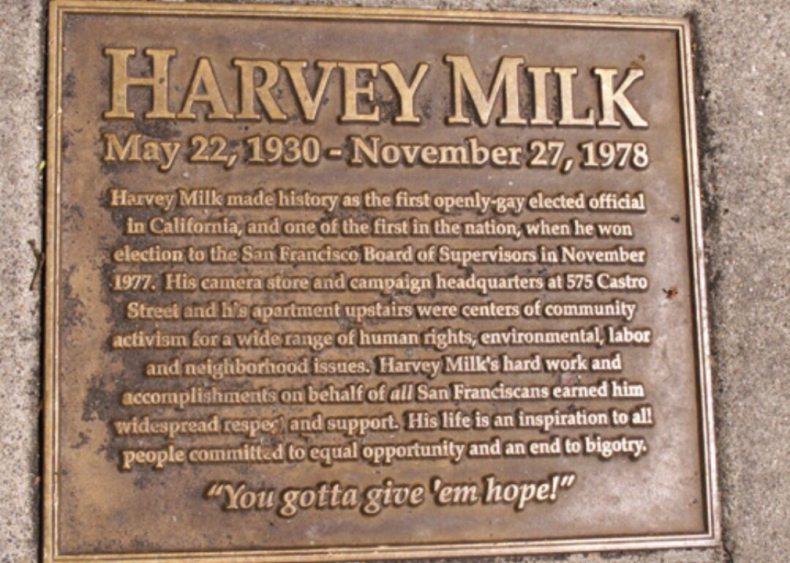 "#6. Harvey Milk's ""Hope Speech"""