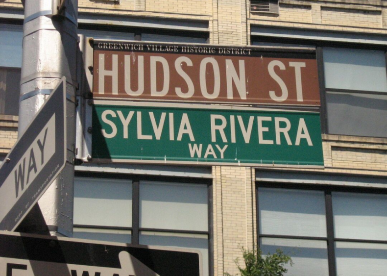 "#3. Sylvia Rivera's ""Y'all Better Quiet Down"""
