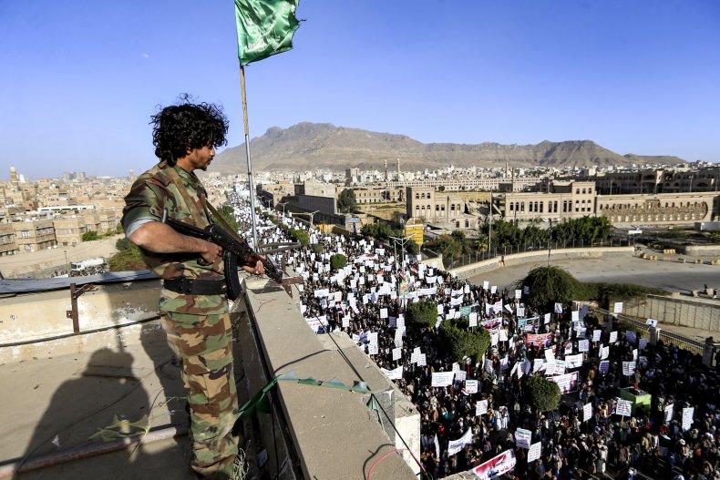 yemen, ansar, allah, houthi, sanaa