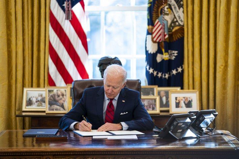 President Biden signs executive orders