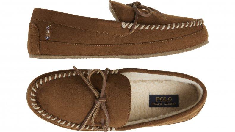 Polo Ralph Lauren Men's Wearhouse Moccasin Slippers