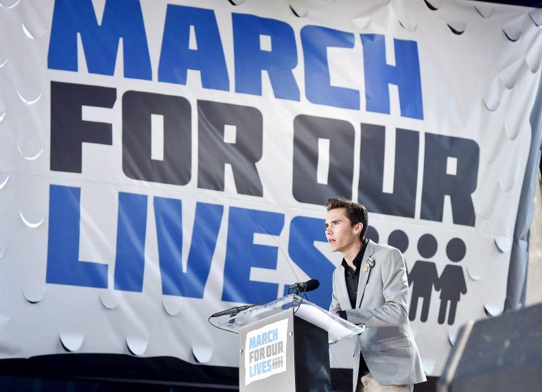 Gun control advocate David Hogg