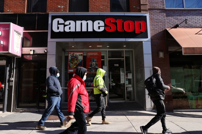 GameStop store pictured in Brooklyn New York